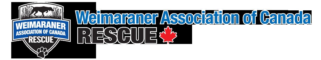 The Weimaraner Association of Canada Rescue